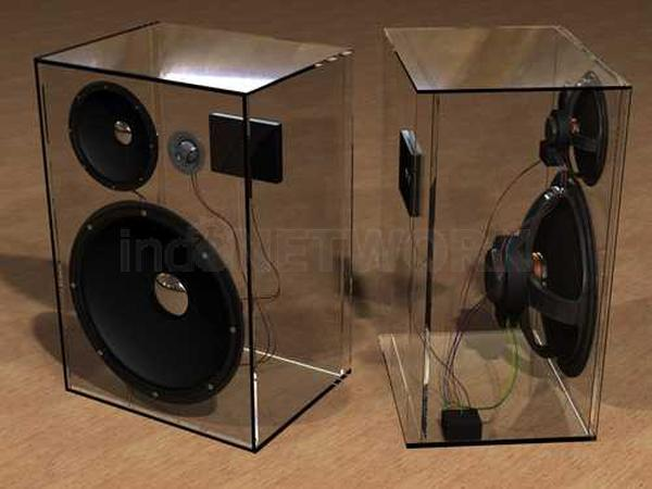 Jual Box Speaker Acrylic Supplier Acrylic Jakarta