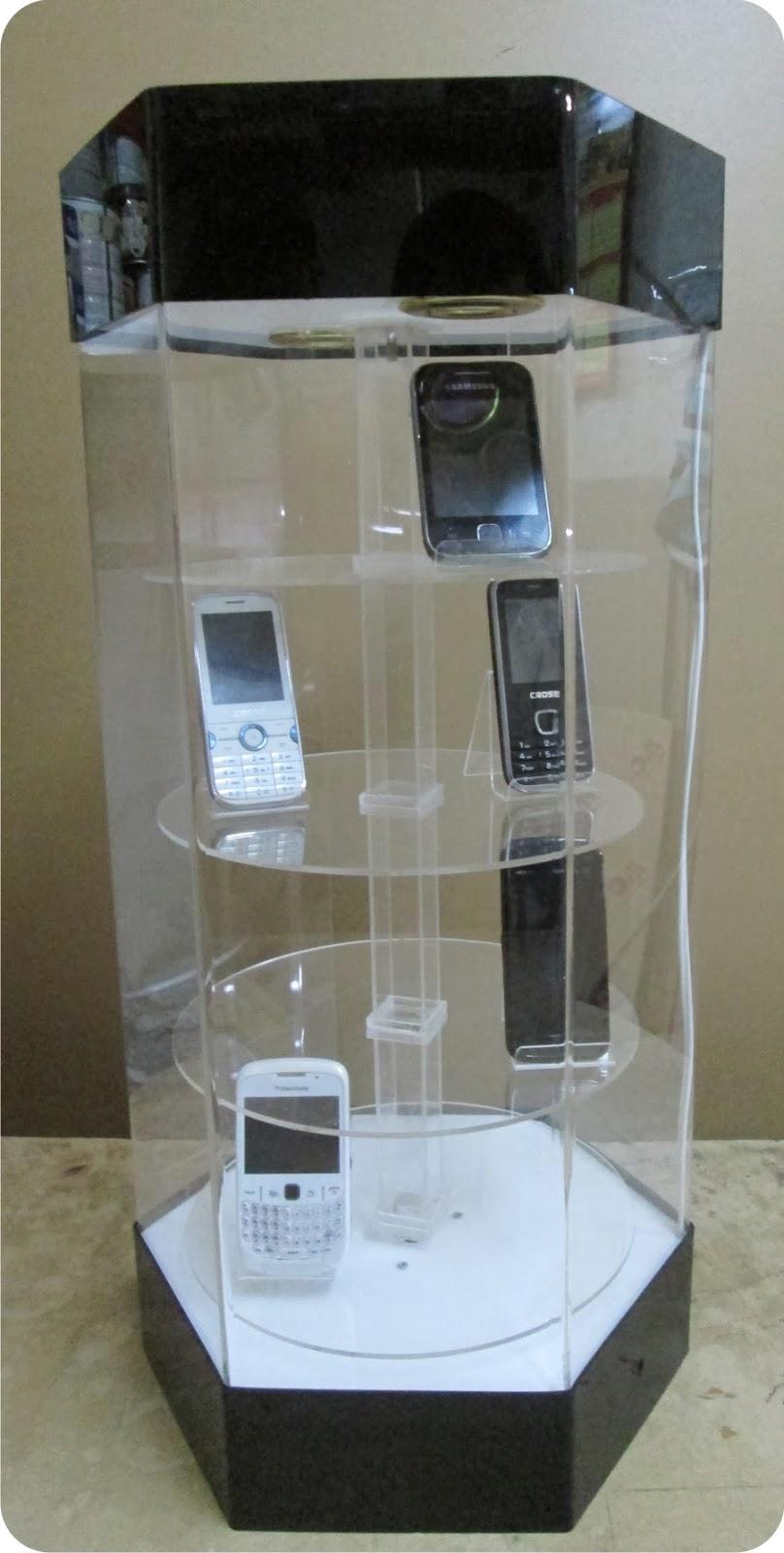 display putar dari acrylic  u2013 supplier acrylic jakarta